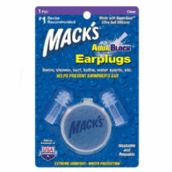 Mack's AquaBlock - Clear - 1 Pair Pack